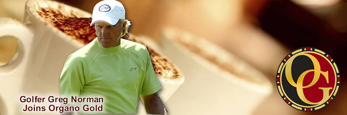 Greg Norman Joins Organo Gold